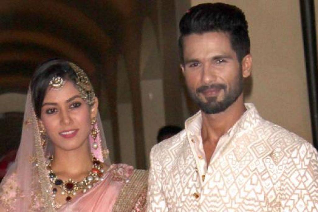 LUANGKAN MASA BERSAMA: Shahid Kapoor sanggup tarik diri daripada menjadi pengadil program dansa realiti 'Jhalak Dilkha Jaa' kerana ingin meluangkan lebih masa buat isterinya, Mira Rajput. - Foto IANS