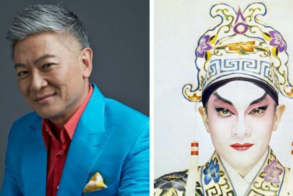 LEBIH HEBAT: Penyanyi dan penggubah lagu tersohor Singapura, Dick Lee, kembali membuat persembahan The Adventures of the Mad Chinaman Upsized pada 3 September ini. - Foto-foto fail