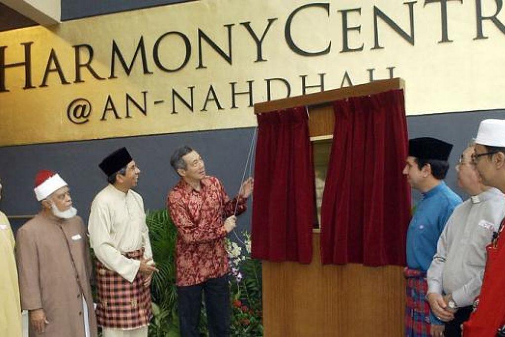 KEINDAHAN ISLAM: Pusat Harmoni di Masjid An-Nahdhah dibina bagi menggalak keterbukaan dan menggalak persefahaman antara agama.
