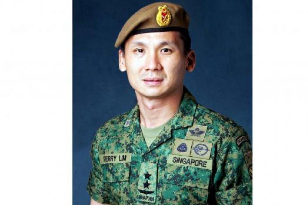 PEMIMPIN BARU: Panglima Tentera Darat, Mejar Jeneral (MG) Perry Lim, akan mengambil alih tugas selaku Panglima Angkatan Tentera.