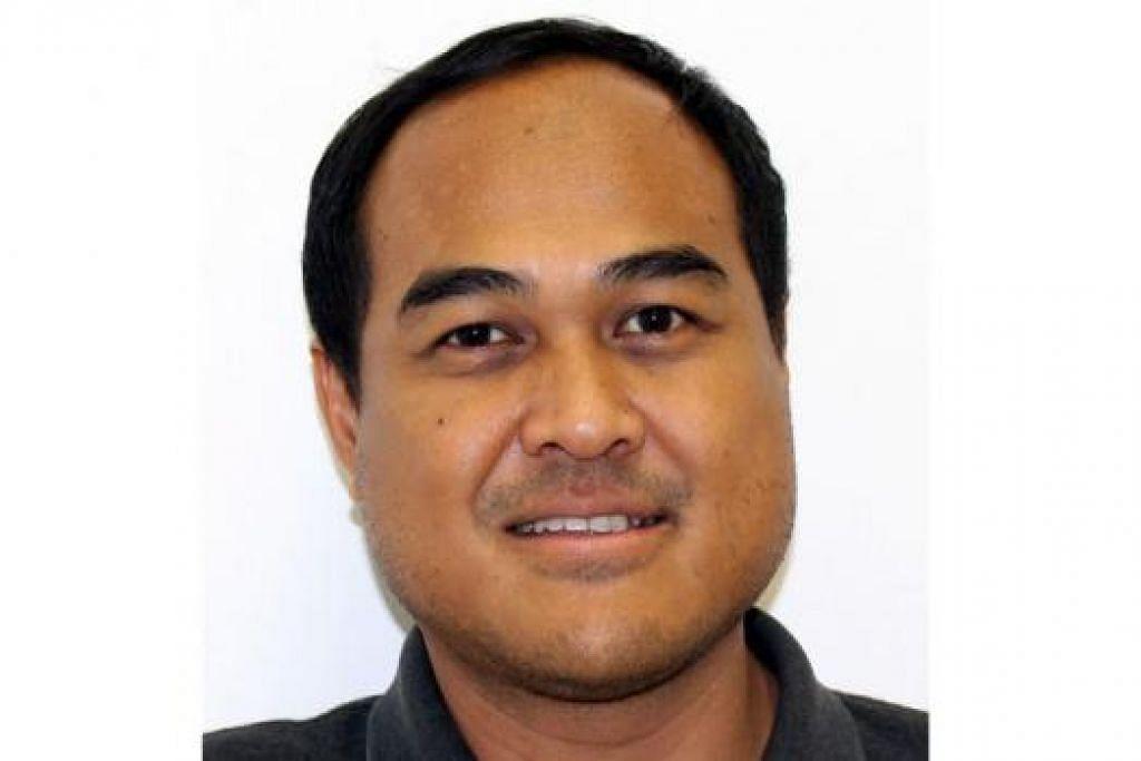 Pengerusi baru cawangan PAP Kaki Bukit, Encik Shamsul Kamar
