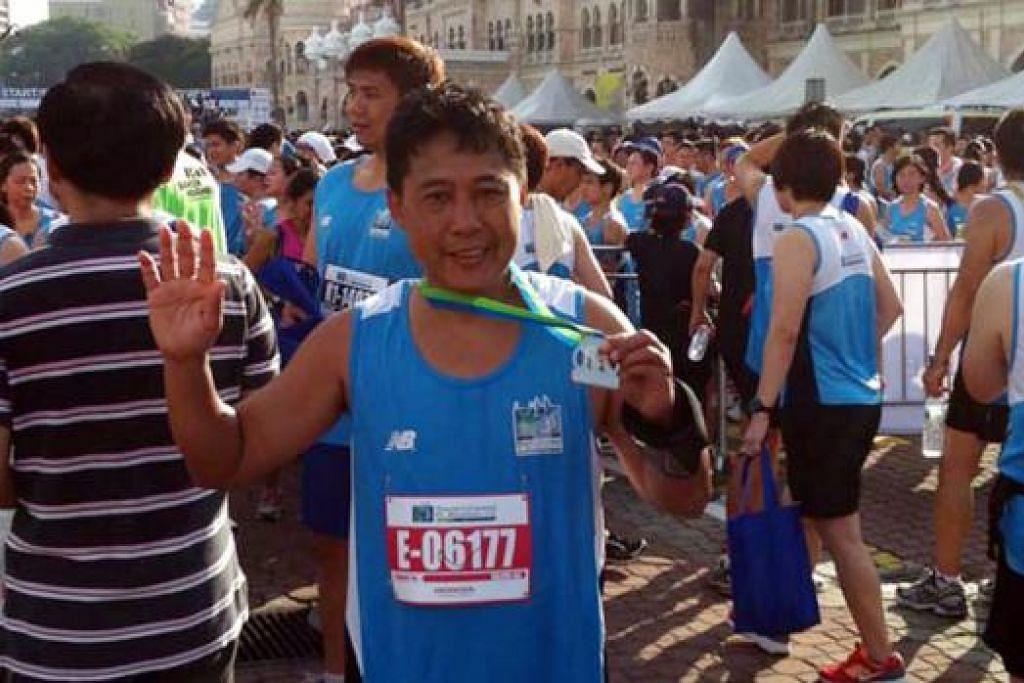 LARI DI KUALA LUMPUR: Maraton Standard Chartered 2013 bermula dan berakhir di Dataran Merdeka.