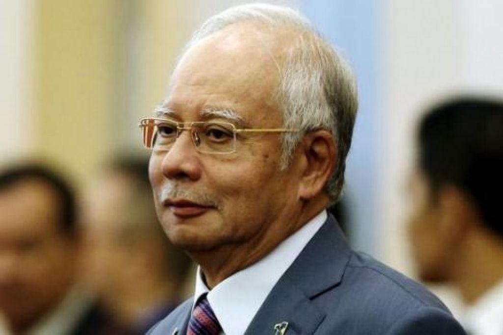 PM NAJIB: Pembangkang juga mempunyai punca kewangan yang tidak diketahui sumbernya.