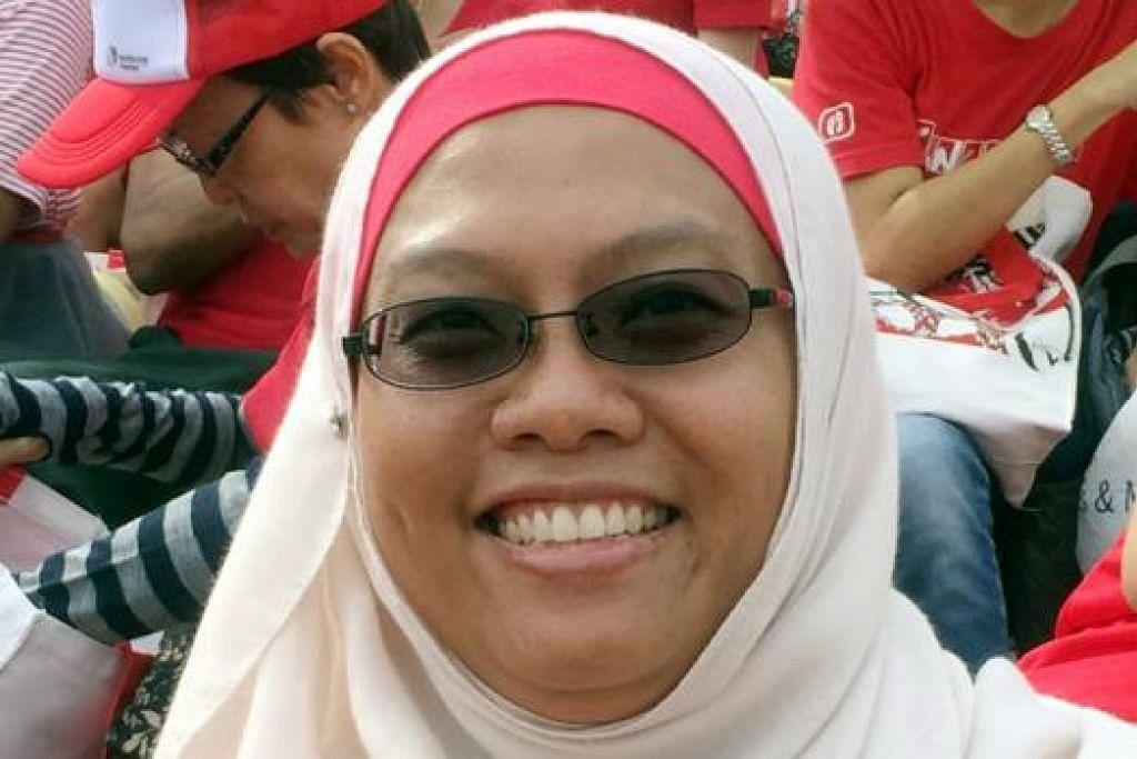 Cik Nor Azizah Ngapi, 43 tahun, Eksekutif Akaun Kanan di Merck Sharp & Dohme (MSD) Singapore.