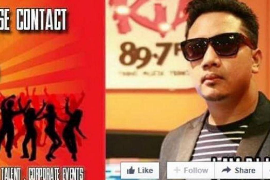 CUBA JELASKAN: Inilah laman Facebook deejay KC yang cuba menjelaskan bahawa beliau tiada kaitan dengan tengkarah yang berlaku antara adiknya Encik Muhammad Kadir, dengan Sharifah Nur Shahirah Hussien. – Foto DJ KC, FACEBOOK.COM