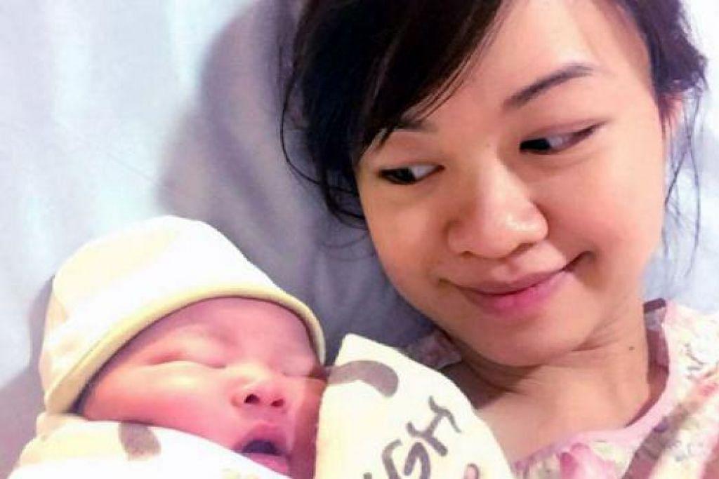 ORANG BARU: Cik Tin Pei Ling, yang melahirkan anak sulung semalam disahkan menjadi calon PAP di SMC MacPherson bagi pilihan raya akan datang. - Foto NG HOW YUE