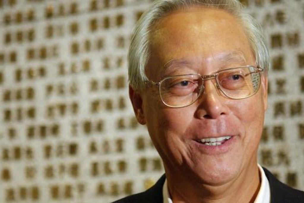 Menteri Kanan Emeritus Goh Chok Tong