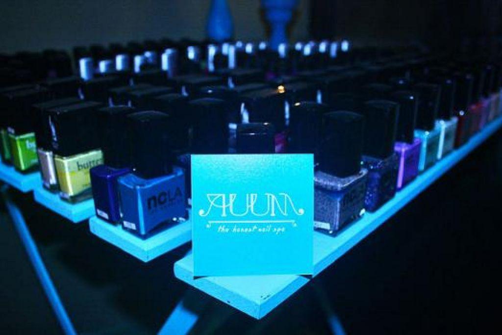 SEMUANYA ORGANIK: Cik Norfazimah berkata Auum hanya menggunakan produk yang mesra alam.