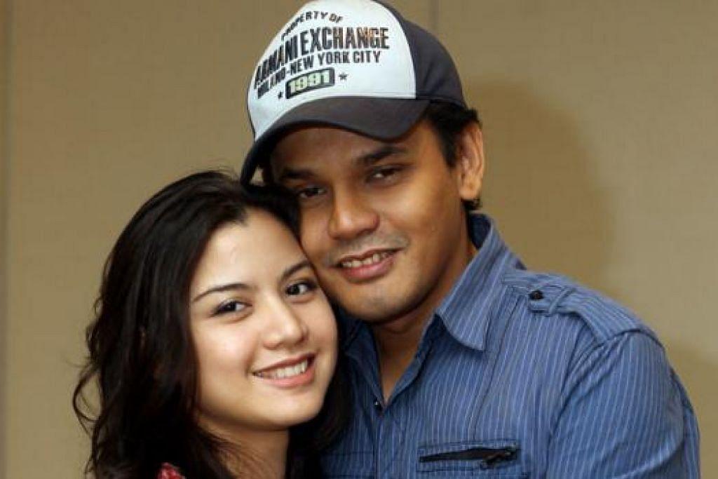 MENANTI SAAT BAHAGIA: Yusry dan Lisa Surihani bakal menerima cahaya mata pertama mereka bulan depan. - Foto fail