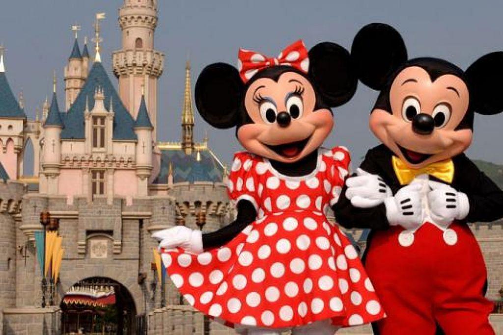 TETAP BOLEH BERSERONOK: Jika di luar masa cuti popular, anda tetap boleh mengisi masa dengan pelbagai kegiatan menarik seperti membeli-belah, mengunjungi Disneyland atau kegiatan-kegiatan lain ke tempat-tempat menarik. - Foto fail