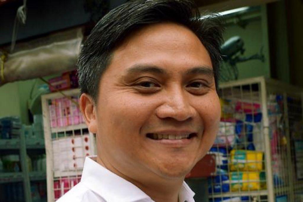 DUA CALON BARU MELAYU: Encik Saktiandi (gambar) menggantikan Encik Zainudin di GRC Bishan-Toa Payoh dan Encik Amrin menggantikan AP Cik Ellen Lee yang berundur diri dari GRC Sembawang.