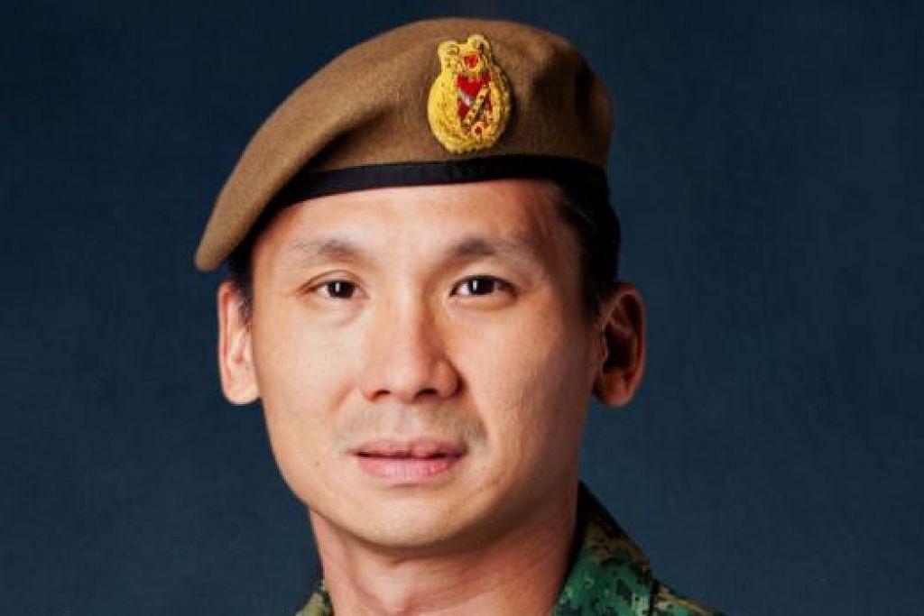 KETUA TENTERA BARU: Jeneral Perry Lim menggantikan Jeneral Ng Chee Meng sebagai Panglima Angkatan Tentera yang baru. - Foto MINDEF