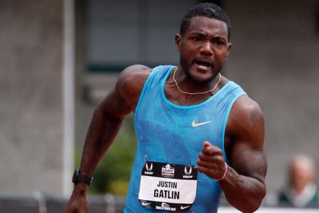 JUSTIN GATLIN: Dua kali digantung kerana kesalahan dadah dan tidak pernah kalah dalam acara 100 meter sejak 2013. - Foto AFP