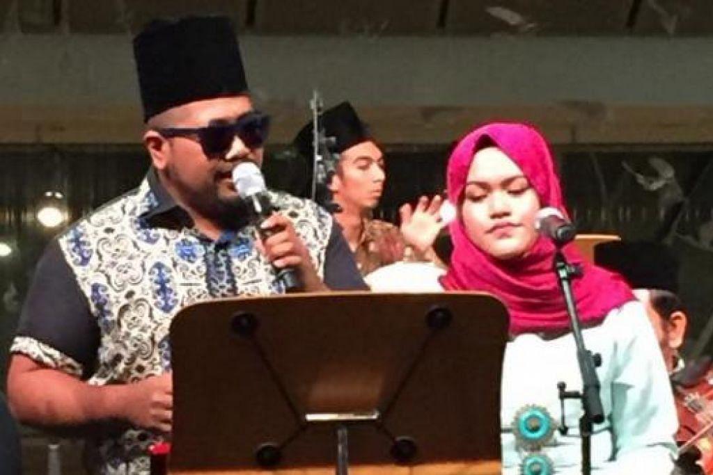 MENGINGATI LAGU SALIM I: Pemuzik Rudi Salim dan Rabiatul Adawiyah Ahmad Sani merupakan penyanyi bersama kugiran band Wisma II.