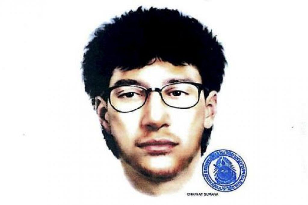 SUSPEK: Inilah gambaran lelaki yang disyaki terlibat dalam letupan bom Isnin lalu. - Foto REUTERS