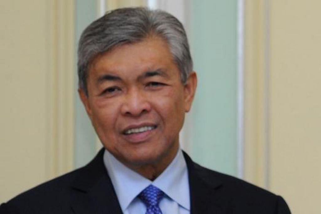 Datuk Seri Ahmad Zahid Hamidi.