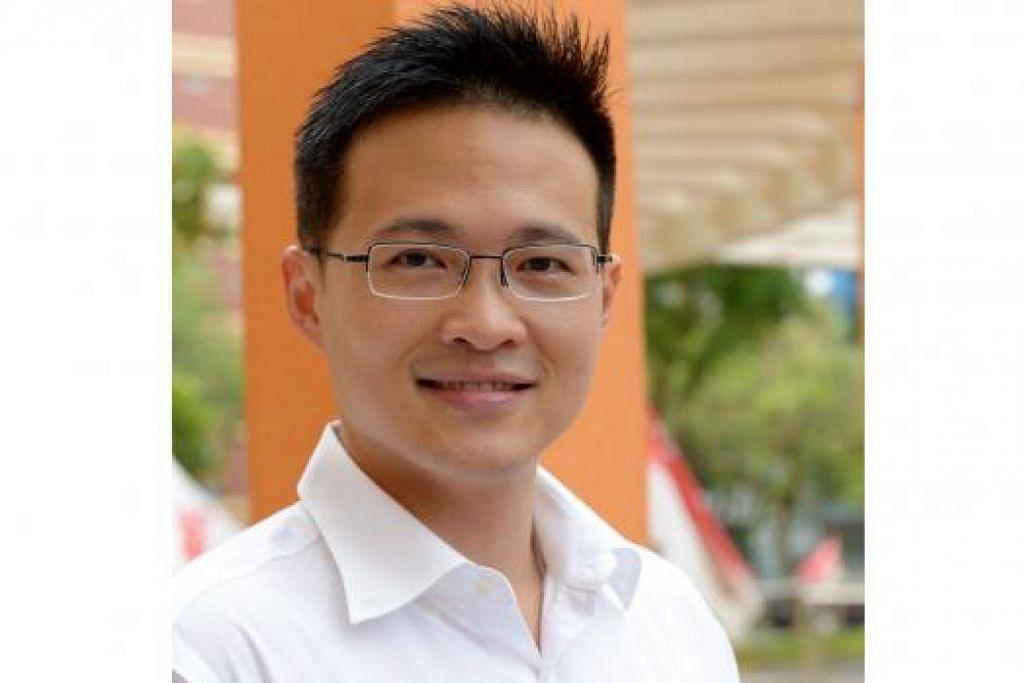 MUKA BARU: Desmond Choo Pey Ching