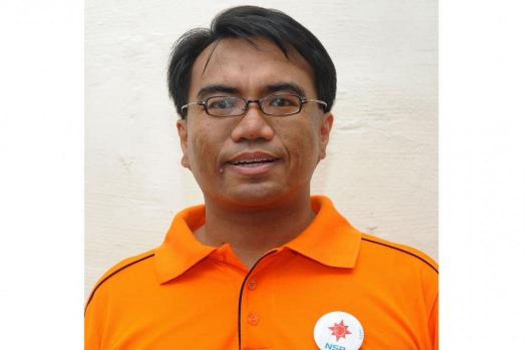Encik Syafarin Sarif, 39 tahun, pengerusi Parti Kuasa Rakyat (PPP)