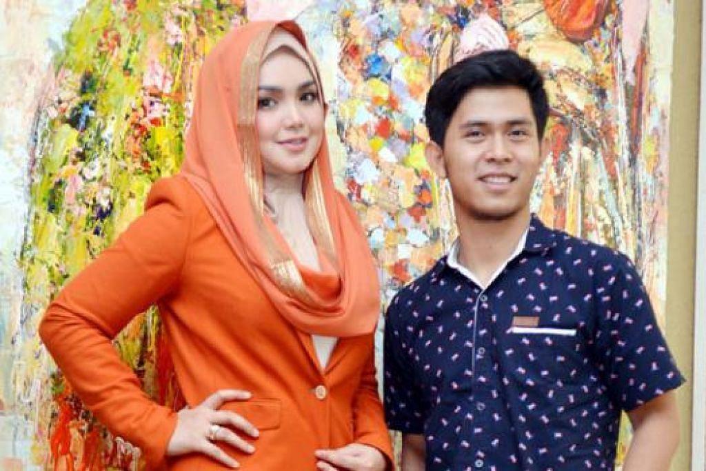 GANDINGAN DUET SERASI: Datuk Siti Nurhaliza rasa bertuah digandingkan dengan bintang Indonesia berbakat Cakra Khan dalam lagu 'Seluruh Cinta'. - Foto 4BP BLOGSPOT