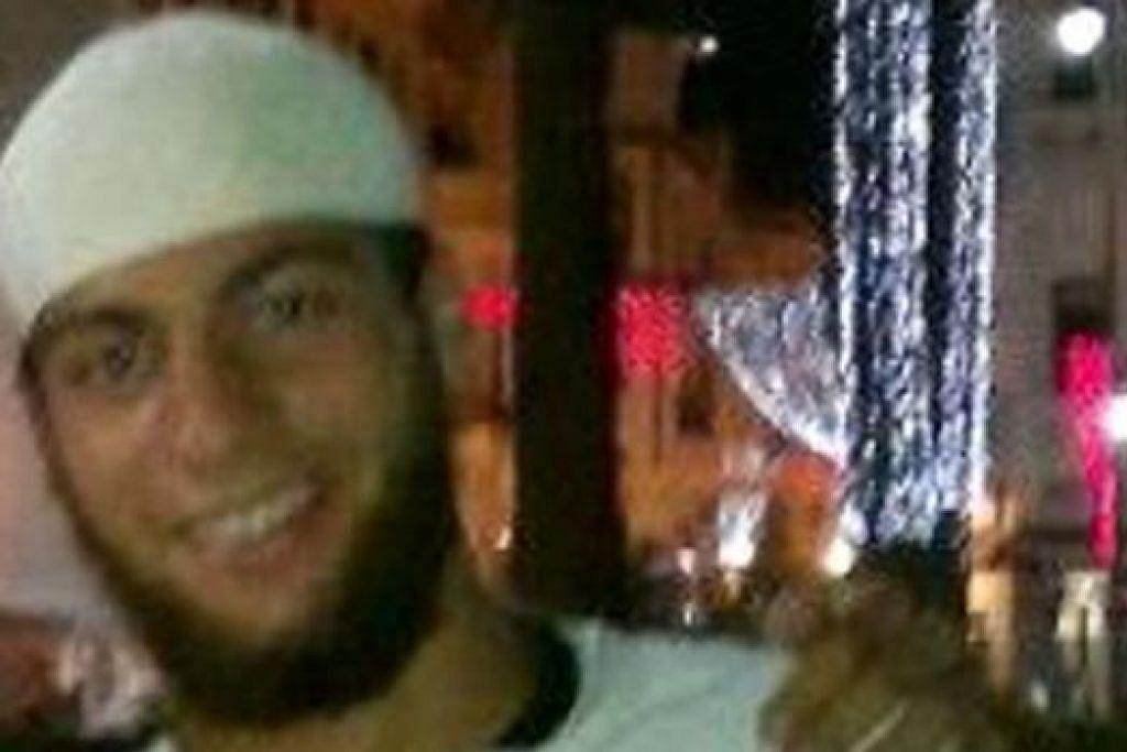 AYOUB EL KHAZZANI: Juga didakwa atas kesalahan memiliki senjata api. - Foto AFP