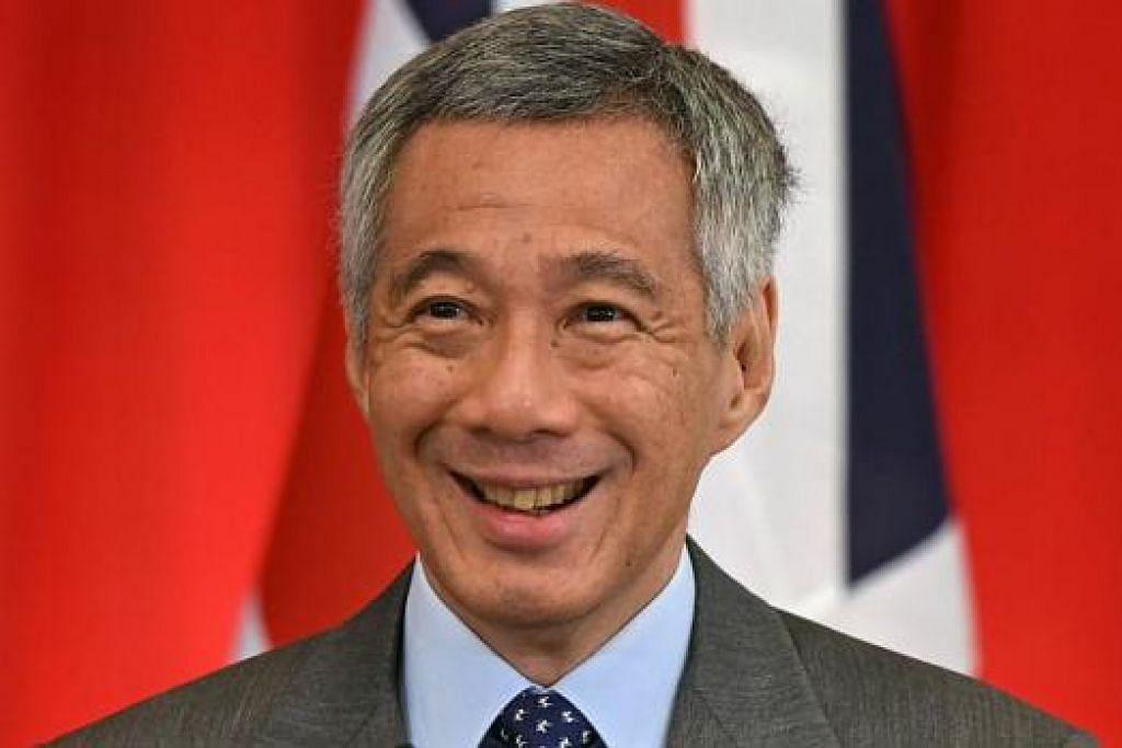 Perdana Menteri Encik Lee Hsien Loong.
