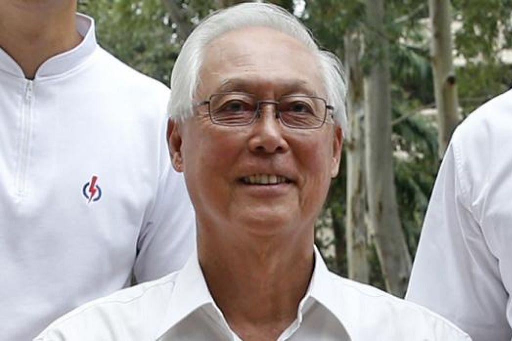 ENCIK GOH CHOK TONG: Menganggap pilihan raya kali ini sebagai mandat kepada pemerintah bagi agenda masa depan. - Foto THE STRAITS TIMES