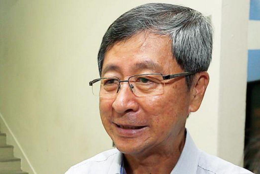 ENCIK LIM: Enggan mengulas desas-desus beliau akan kembali ceburi politik untuk bertanding di GRC Aljunied.