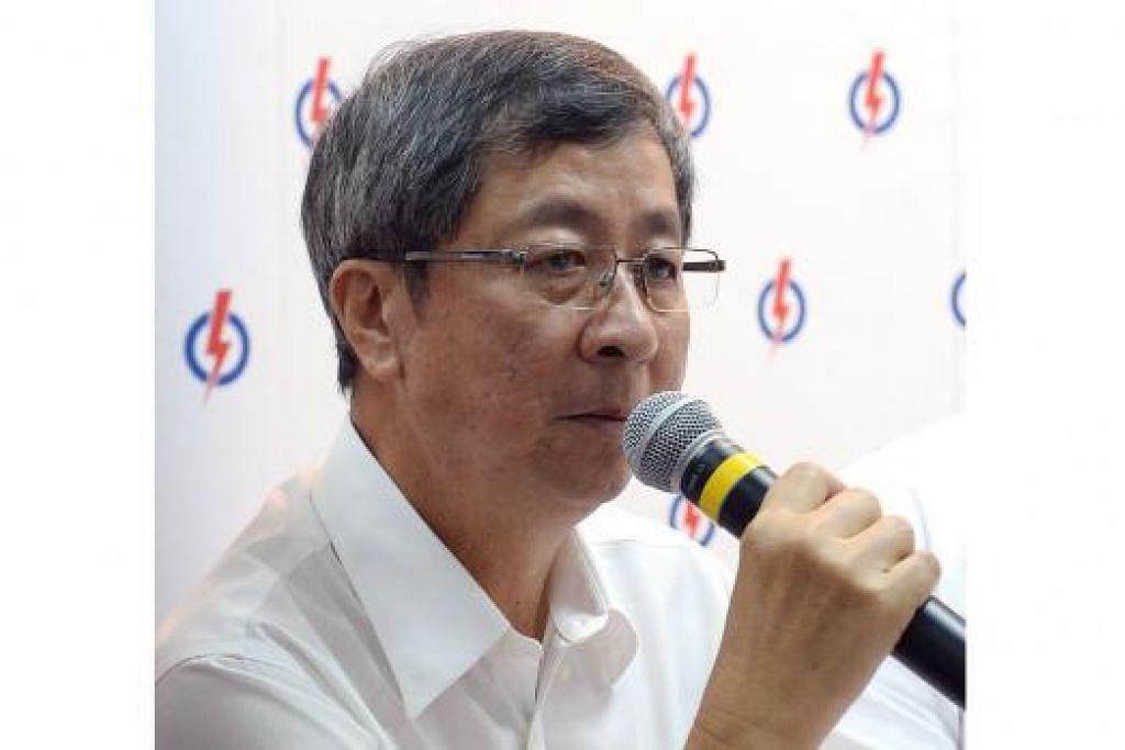 ENCIK LIM BOON HENG: Calon-calon PAP di GRC Aljunied telah bekerja keras berbakti kepada masyarakat dengan pelbagai cara.