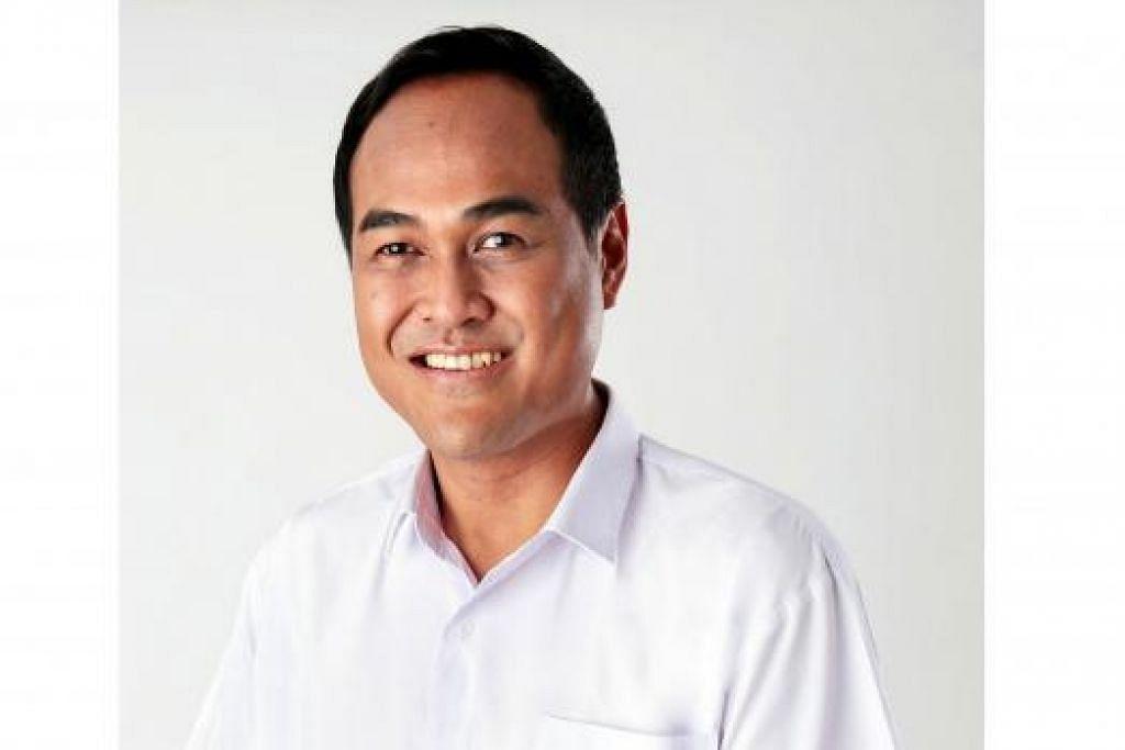 Calon PAP, Encik Shamsul Kamar, 43 tahun.