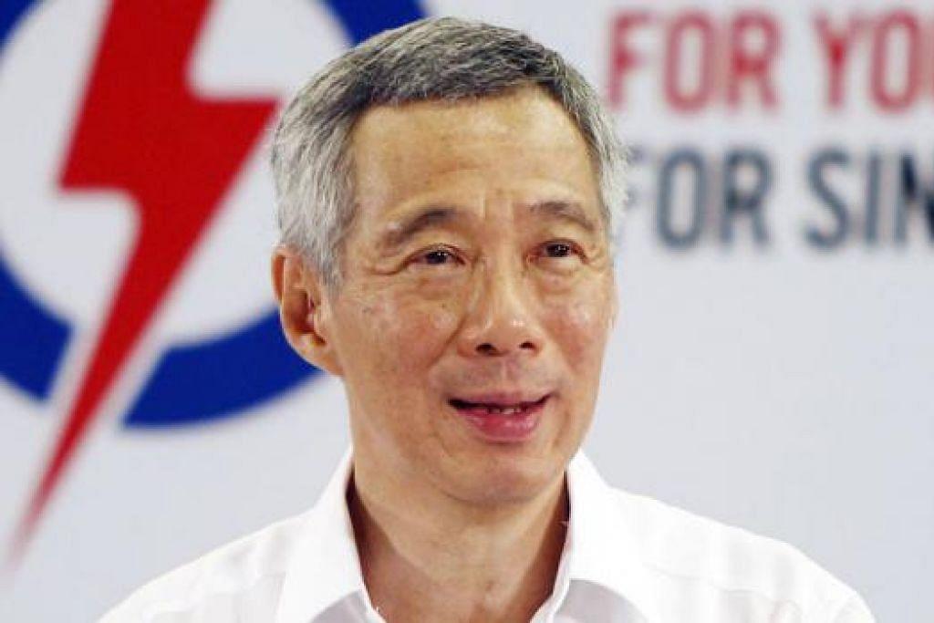"""""""Sebab itulah manifesto kami adalah 'Bersama Anda, Untuk Anda, Demi Singapura'. Ia meraikan kisah kejayaan kita yang telah kita capai bersama-sama. Ia berkongsi usaha yang sedang kita lakukan bersama-sama. Ia menggambarkan cabaran yang kita hadapi bersama-sama dan ia menunjukkan apa yang boleh kiat bina bersama-sama."""" - Perdana Menteri Encik Lee Hsien Loong."""