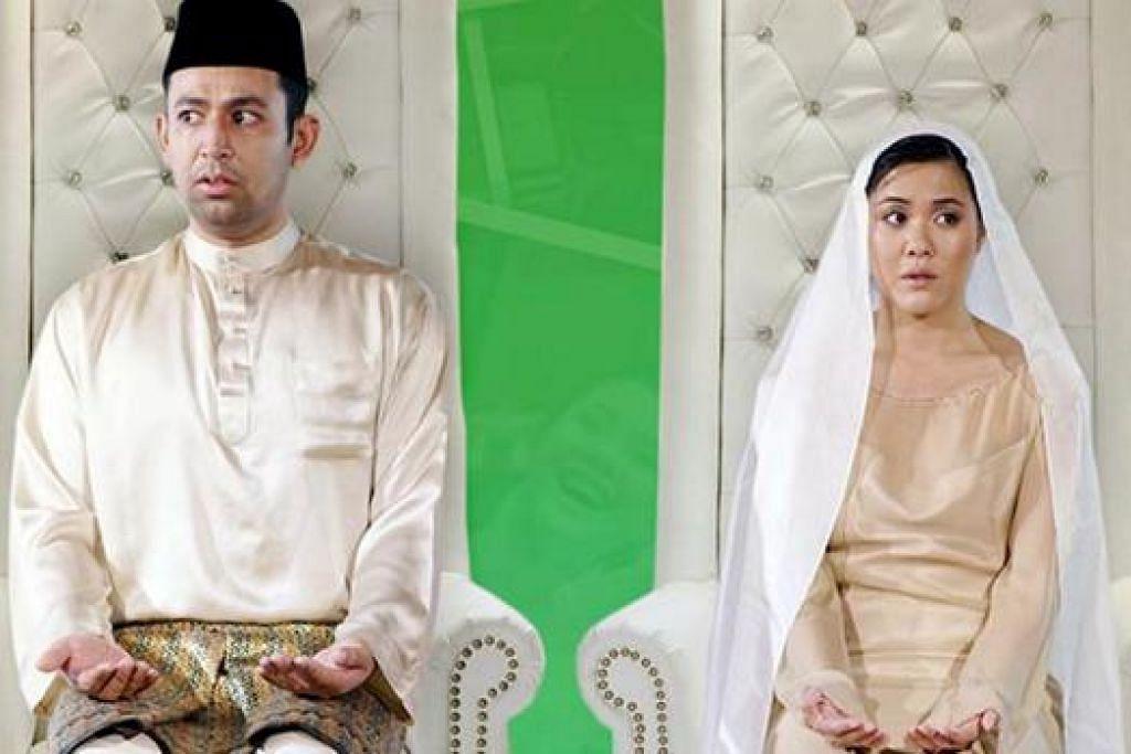 TAMBAH KERENCAMAN: 'Cuak', filem pelbagai bahasa yang secara unik diarah oleh lima sutradara berbeza, memiliki unsur Malaysia yang boleh dibanggakan meskipun memiliki jalan cerita mudah tentang lelaki yang gentar di ambang majlis perkahwinannya. - Foto THE MOVIES