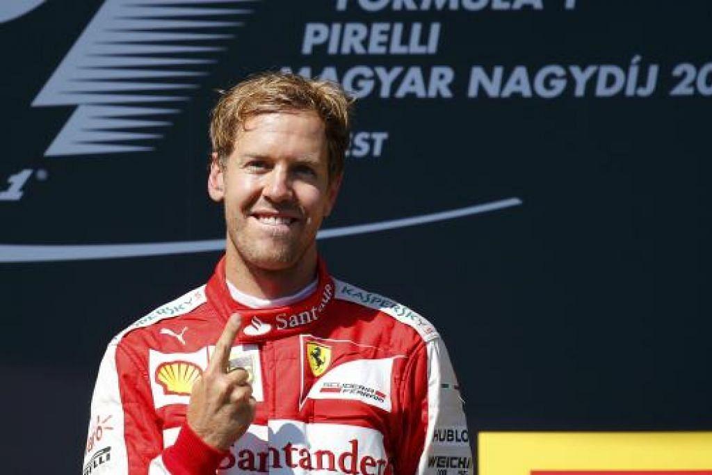 KEJAR SEJARAH: Jika memenangi Grand Prix Italy hujung minggu ini, juara dunia empat kali dari Ferrari, Sebastian Vettel, akan menjadi hanya pemandu kedua dalam sejarah sukan itu untuk menang di litar ini bersama tiga pasukan berbeza.