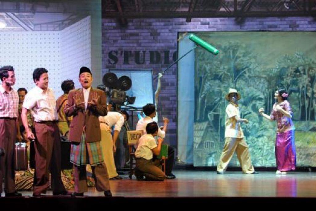 PEMENTASAN JELAJAH: Muzikal P. Ramlee The Musical menjelajahi tiga negeri Malaysia dari Pulau Pinang ke Johor dan Melaka. - Foto ENFINITI VISION MEDIA