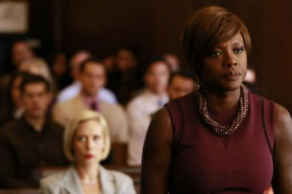BAKAL KE UDARA: Siri rancangan How To Get Away With Murder yang dibintangi Viola Davis akan bertemu penonton di Sony Channel mulai 14 September ini. - Foto ABC