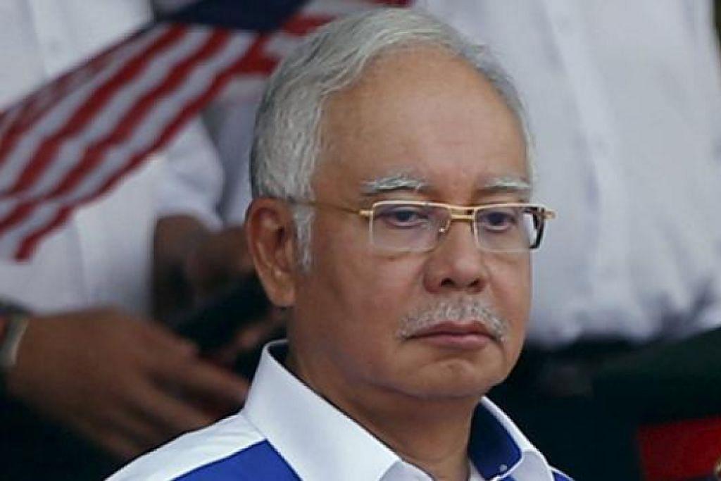 DATUK SERI NAJIB: Bersih gesa Perdana Menteri Malaysia ini meletakkan jawatan susuli skandal rasuah libatkan hampir RM2.6 bilion.