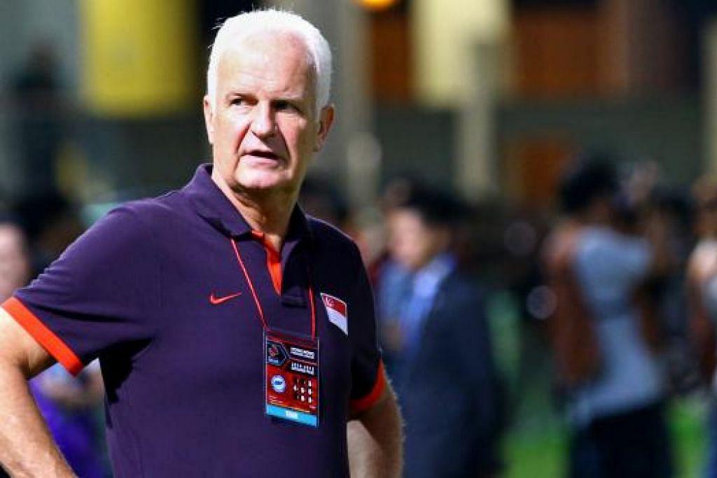 BERND STANGE: Dilantik jurulatih nasional sejak dua tahun lalu. - Foto fail