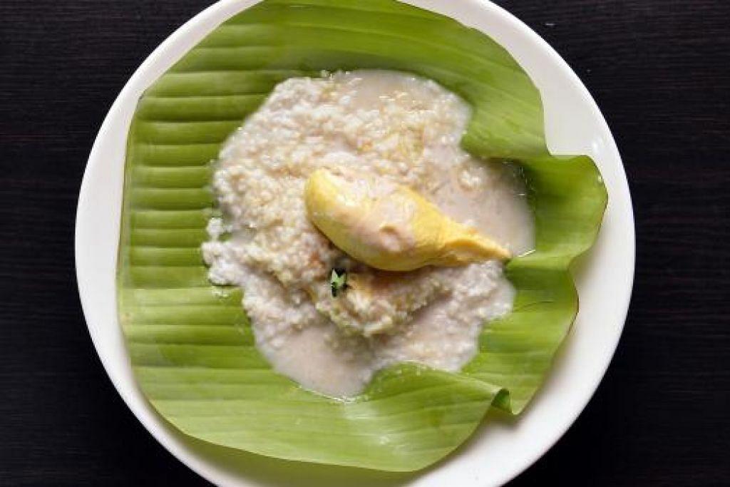 NASI DURIAN: Inilah Nasi Durian yang mesti anda cuba apabila ke restoran Zada SG.