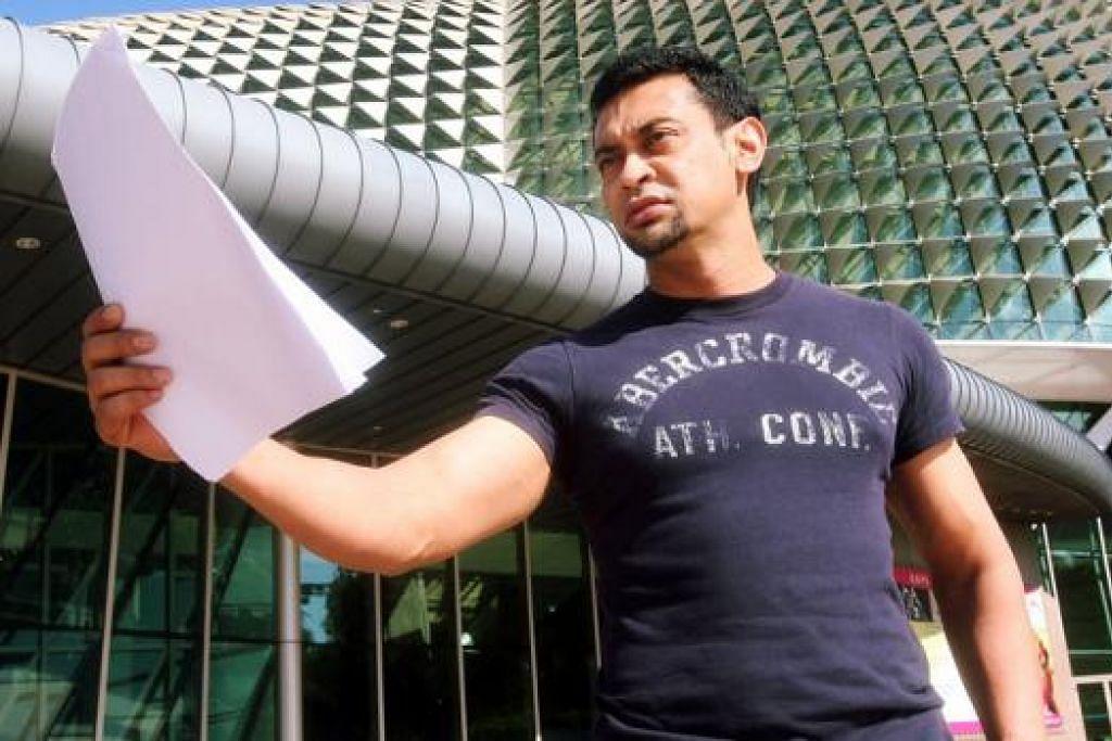 GHAIRAH INGIN MENDEKLAMASI: Encik Adi Rahman, deejay radio, akan muncul menyerikan 'Malam Sastera Berita Harian' dengan mendeklamasikan puisi pada 6 Oktober ini. - Foto fail