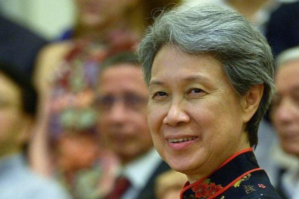 CIK HO CHING: Ketua Eksekutif Temasek Holdings.