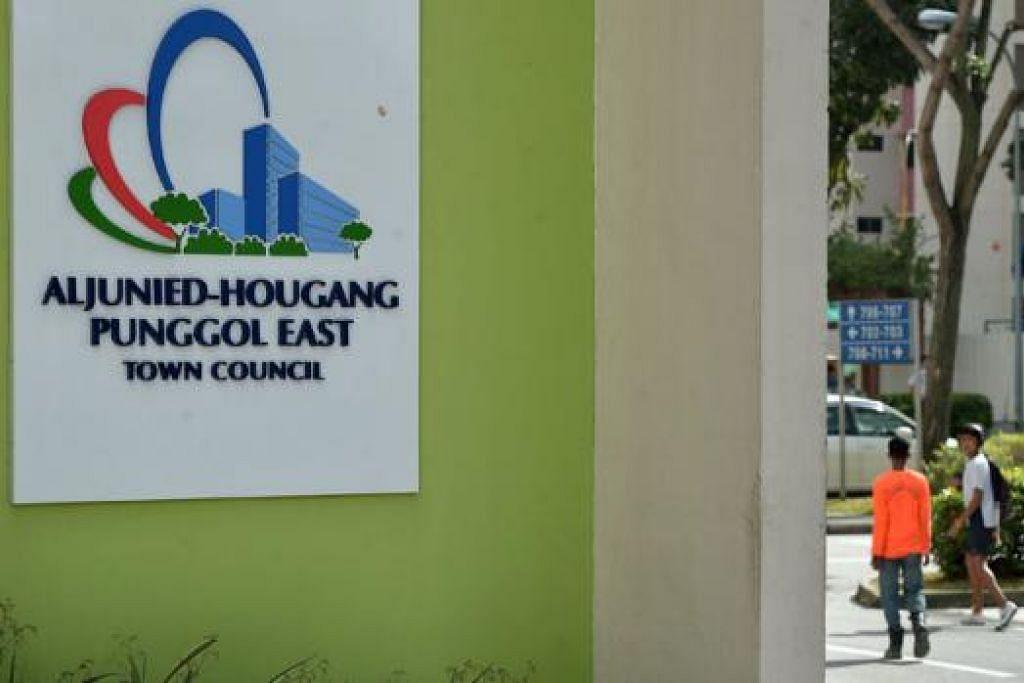 TERUS DIBAHAS: Isu pengurusan kewangan Majlis Bandaran Aljunied-Hougang-Punggol East (AHPETC) yang di bawah pentadbiran Parti Pekerja terus jadi perbahasan. - Foto fail