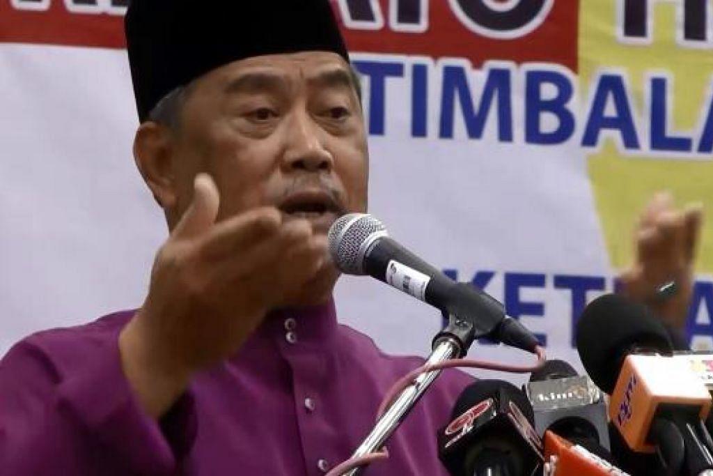 Tan Sri Muhyiddin: Akan dibuang daripada Umno atau tidak? Gambar fail THE STAR