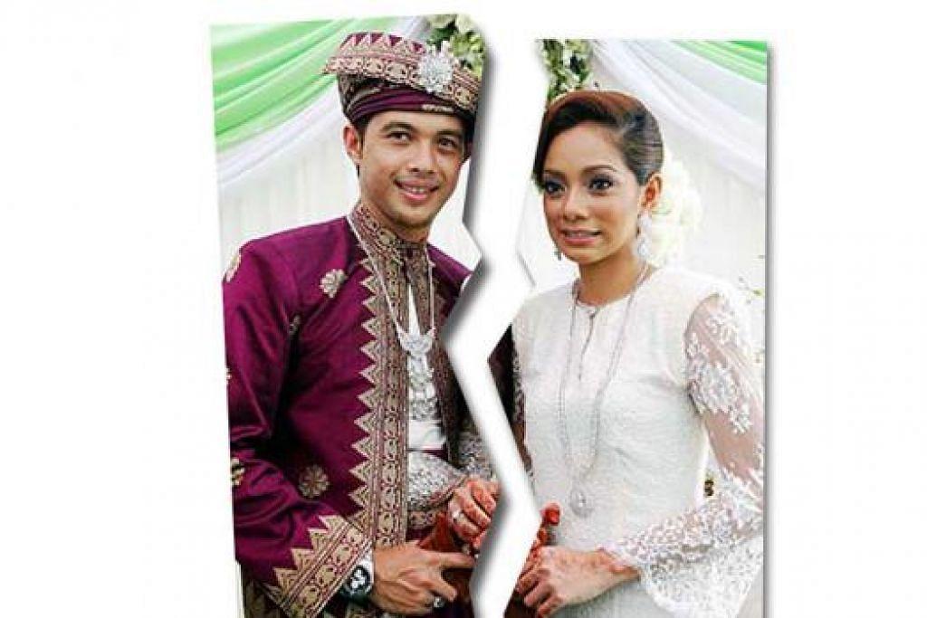 SUDAH BERCERAI: Linda mendedahkan bahawa suaminya melafazkan cerai di kediaman mereka di Shah Alam sekitar 7 pagi kelmarin. Namun Syed Aiman menafikan rumah tangganya dengan Linda berdepan masalah. - Foto fail