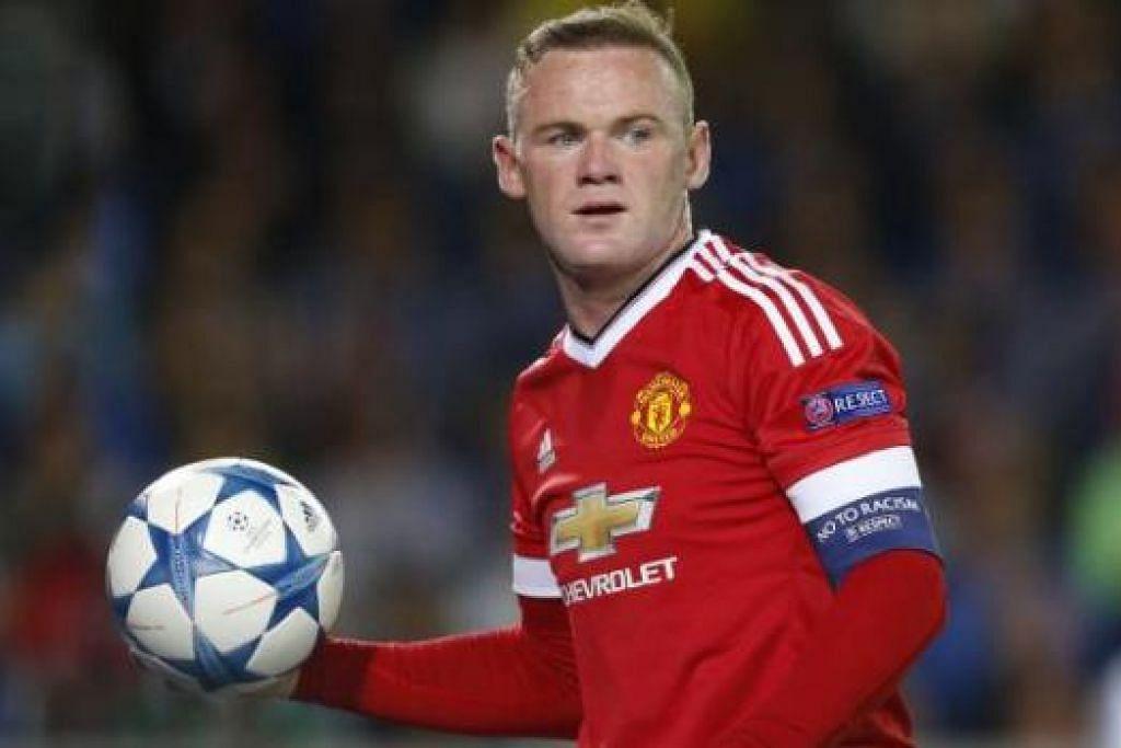 ANTHONY MARTIAL: Muka baru yang diharap dapat tajamkan serangan United. Penyerang United, Wayne Rooney, berharap meneruskan prestasi cemerlang bagi kelabnya pula. - Foto REUTERS
