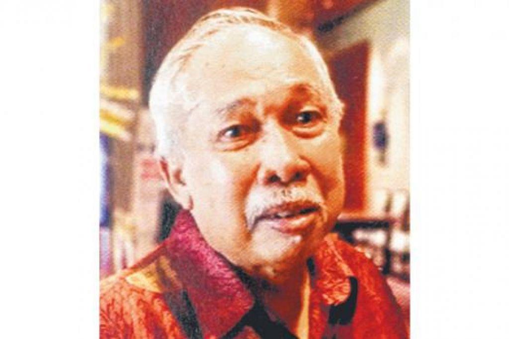 GURU PERINTIS: Encik Jamaluddin Ali mengajar di TKSS dari 1965 hingga 1989.