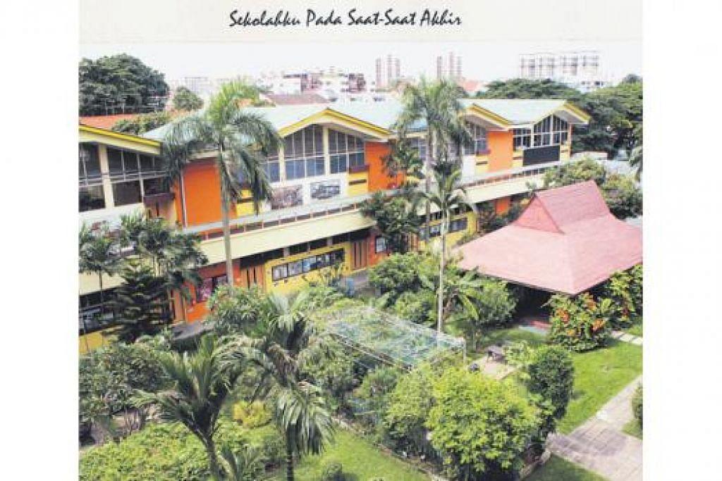 SEKOLAHKU: Sekolah Menengah Telok Kurau sebelum ditutup pada 2010.