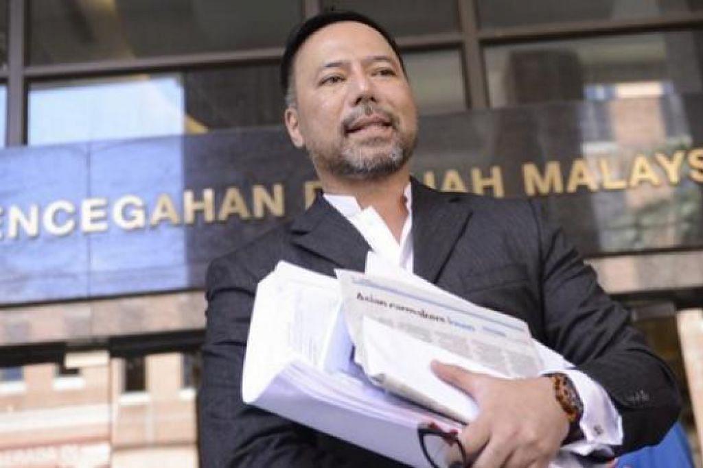 DITAHAN: Rancangan Encik Khairuddin berjumpa ejen FBI dipatahkan apabila Jabatan Imigresen Malaysia menghalangnya daripada meninggalkan negara itu. - Foto THEMALAYSIANINSIDER
