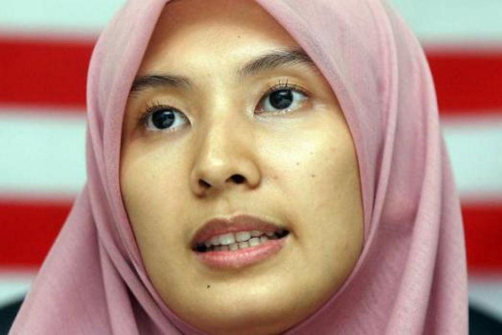 CIK NURUL IZZAH: Minta Datuk Seri Anwar dibebaskan dan diberi akses kepada pembedahan akibat sakit yang dideritai. - Foto fail