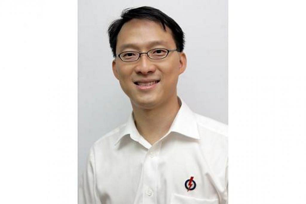 MENTERI NEGARA: Encik Lam Pin Min