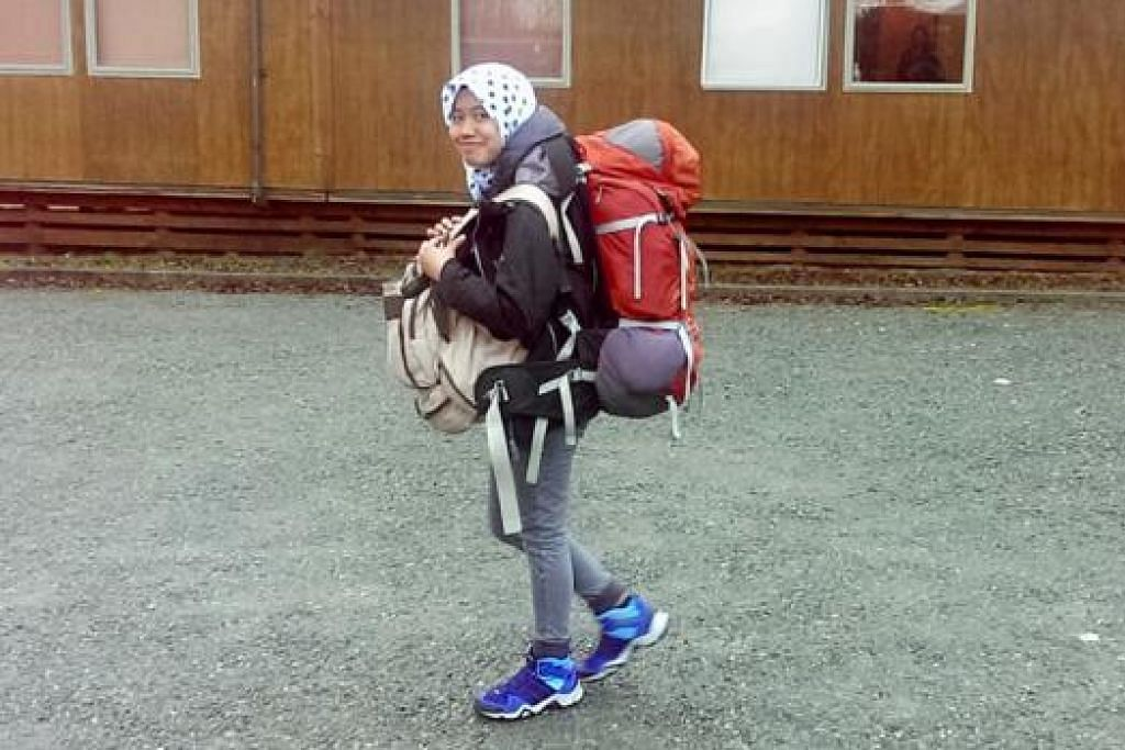YAKIN: Penulis melalui penginapan Steamers Beach Backpackers di Te Anau.