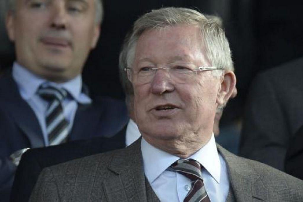 FERGUSON: Semasa menjadi pengurus, beliau pastikan gaji pemain lebih rendah daripadanya. - Foto AFP